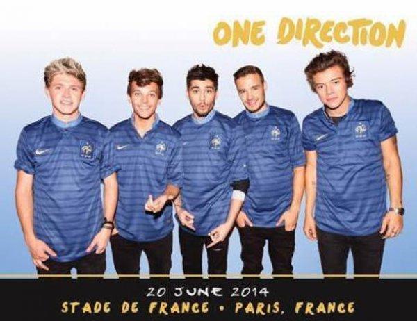 One Direction : #WelcomeBackInFrance1D, une surprise pour les Directioners françaises !