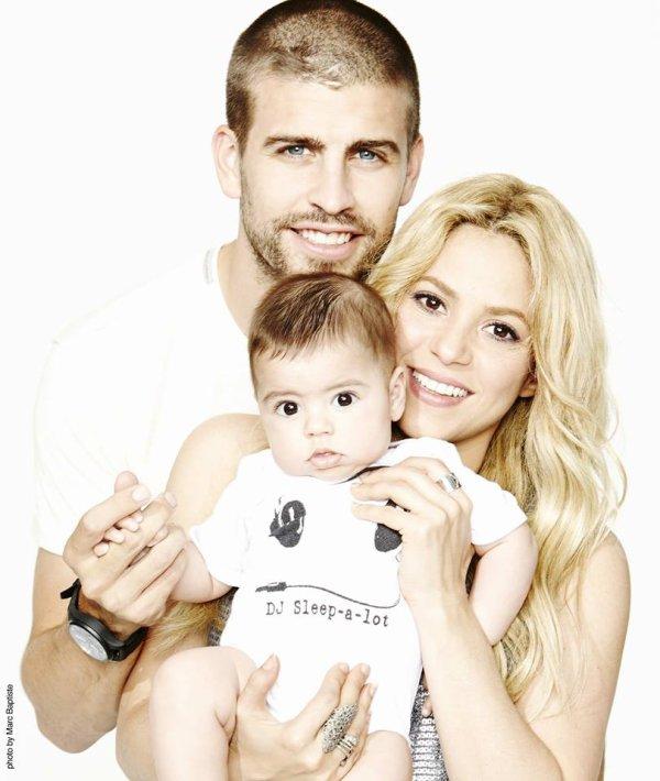 Nouvelle photos de la famille Piqué