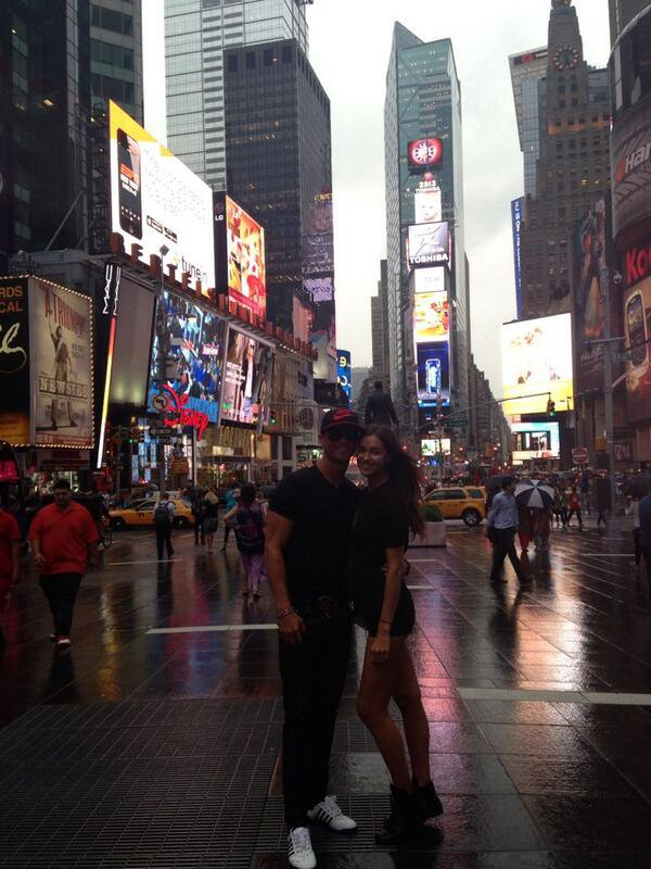 Cristiano Ronaldo et Irina Shayk a New York le 19 juin