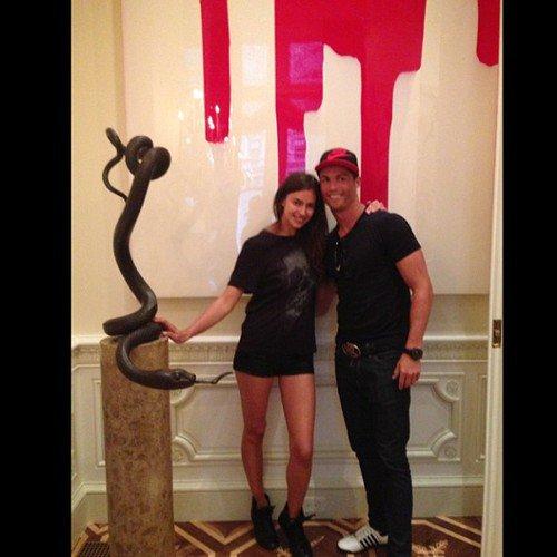 Irina Shayk et Cristiano Ronaldo s'offre de belles vacances en amoureux a New York