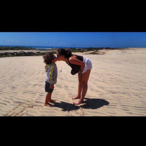 Clarice et Enzo au Brésil le 19 juin