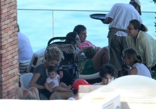 Shakira et Milan a Rio le 30 juin