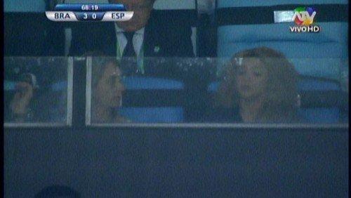 Shakira et Montserrat lors de la final