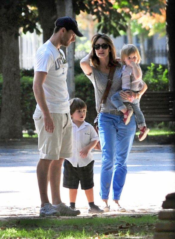 Nagore Aranburu, Ane, Jun et Xabi Alonso de sortie le 05 - 07