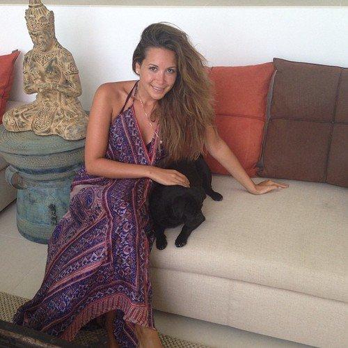 Mandy Capristo a Ibiza le 10 - 07