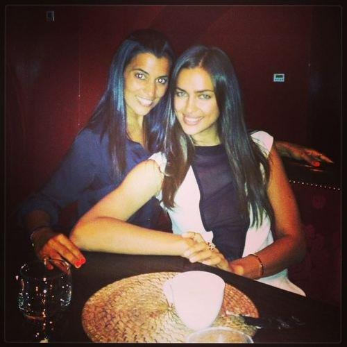 Irina Shayk et Une amie le 10 - 07