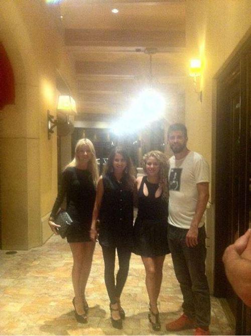 Shakira et Gerard Piqué a Las Vegas