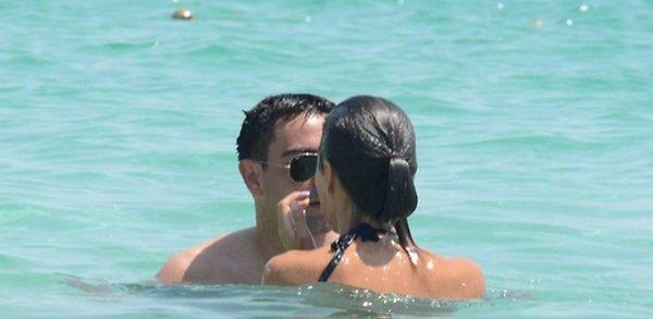 Xavi Hernandez et Nuria Cunillera le 11 - 07