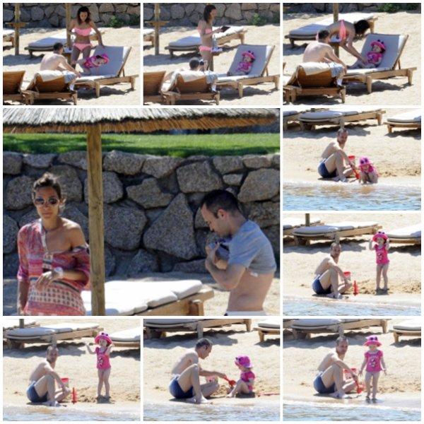 Anna, Andres et Valeria Iniesta le 12 - 07