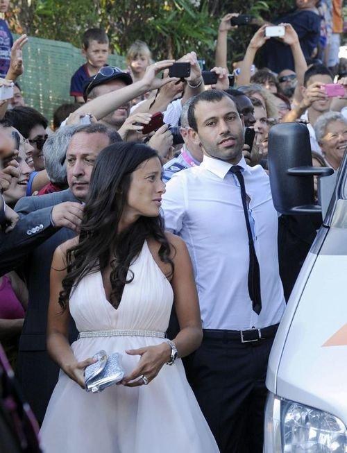 L'arrivés des invités de Xavi et Nuria