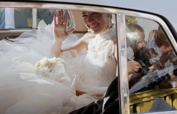 Nuria Cunillera a son mariage
