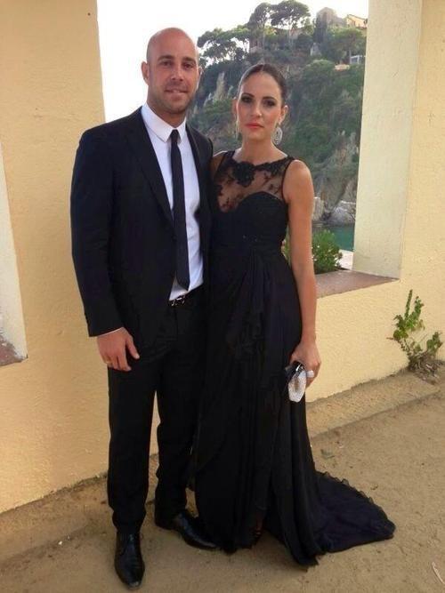 Pepe et Yolanda Reina le 13 - 07 au mariage de Xavi Hernandez