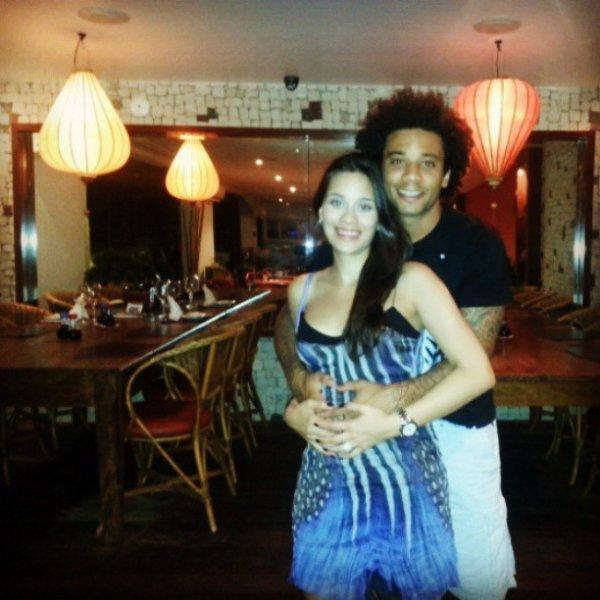 Clarice et Marcelo le 13 - 07