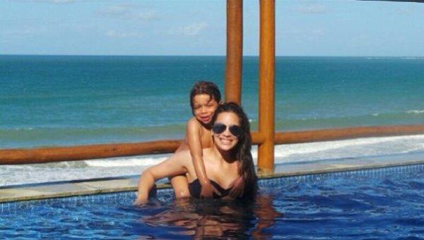 Clarice Alves et Enzo le 17 - 07