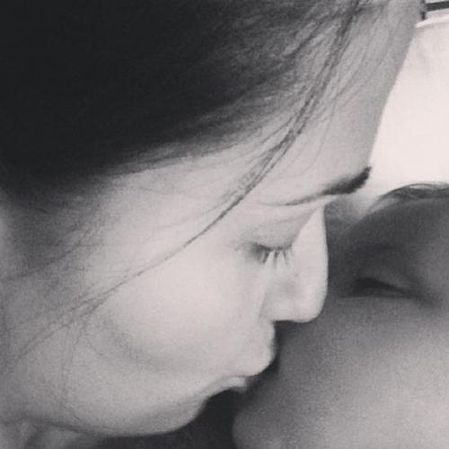 Sofia la femme de Pepe et sa fille Angeli