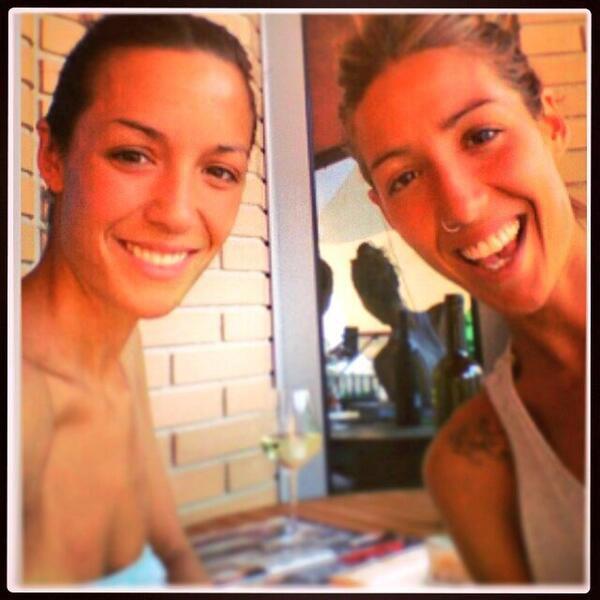 Anna Ortiz et sa soeur le 29 - 07
