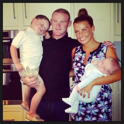 La famille Rooney au complet