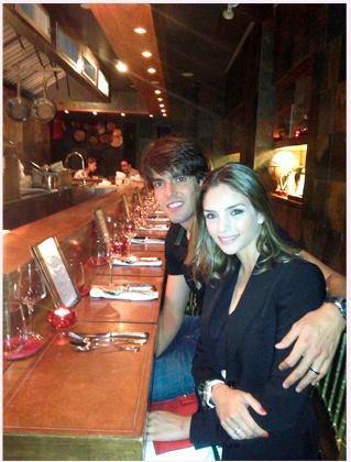 Ricardo Kaka et Caroline Celico le 30 - 07