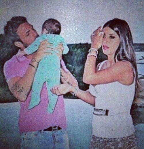 Lia Fabregas, Cesc Fabregas et Daniella Semaan