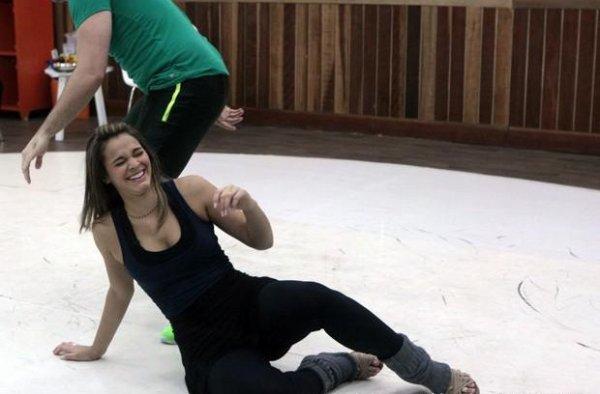 Bruna Marquezine lors des répétitions pour l'émission 'Dança dos Famosos' 15- 08