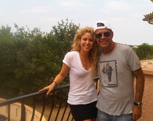 Shakira et John Piqué le 17 - 08