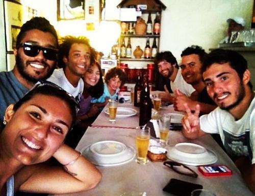Marcelo, Enzo, Clarice et des amis le 05 - 09