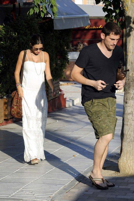 Iker Casillas et Sara Carbonero le 01 - 09