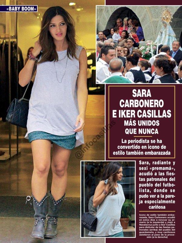 Sara Carbonero et Iker Casillas le 11 - 09