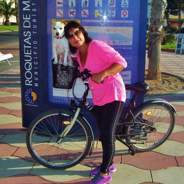 Olga Shayk (la maman d'Irina Shayk) le 11 - 09