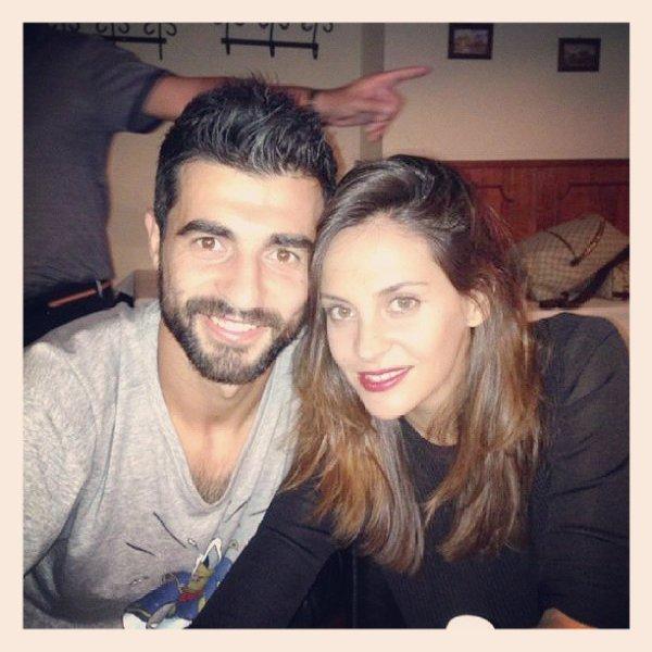 Alicia Roig et Raul Albiol le 19 - 09