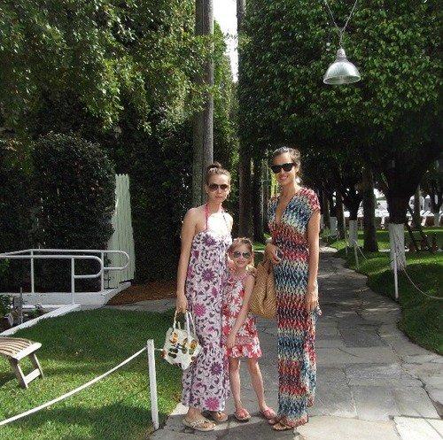 Irina Shayk et des fans le 22 - 09