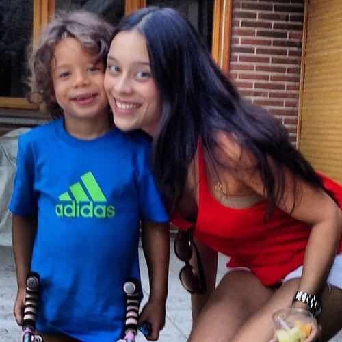 Clarice Alves et Enzo le 22 - 09
