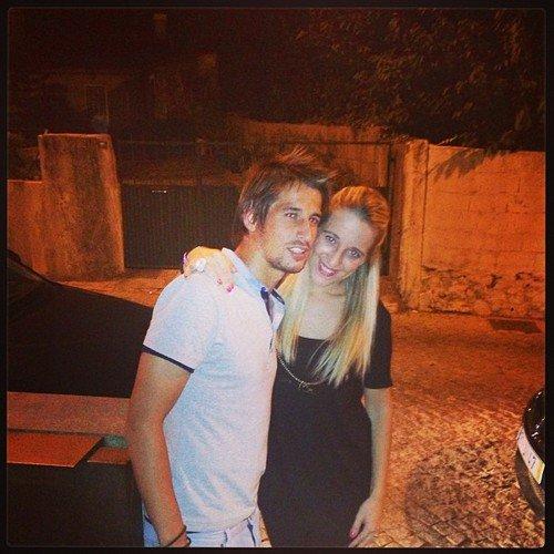 Andreia Santos et Fabio Coentrao le 22 - 09