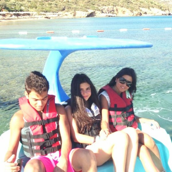 Suzanna et Majd Semaan avec Maria Taktouk