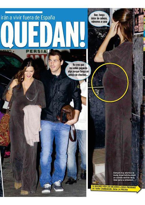 Sara Carbonero et Iker Casillas le 04 - 10