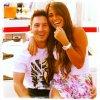 Leo Messi et Antonella Roccuzo (via Antonella Instagram)