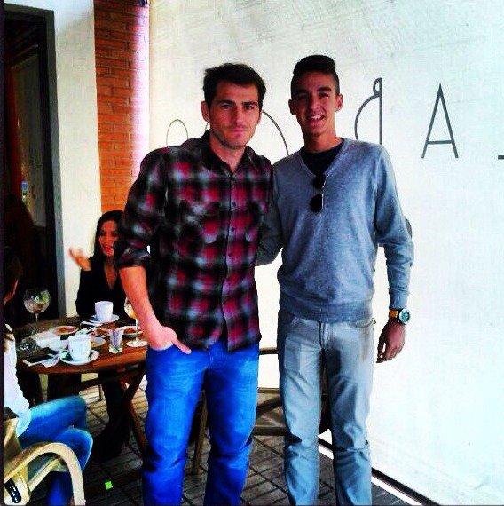 Sara Carbonero et Iker Casillas le 13 - 10