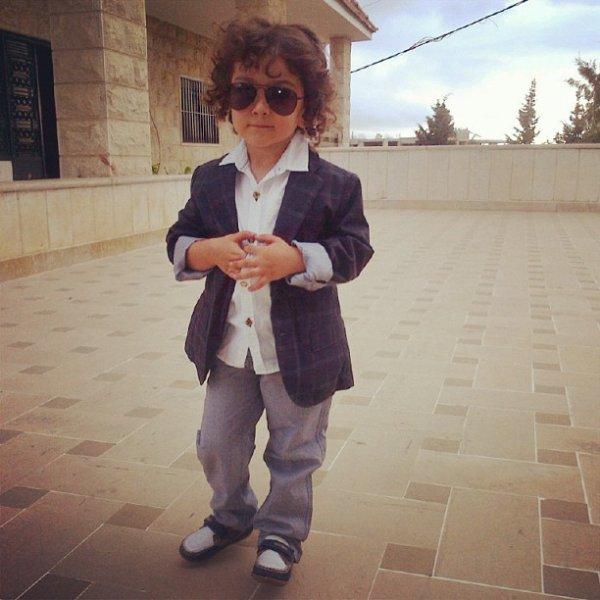 Amir Seman le petit frére de Daniella Semaan le 14 - 10