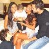 Daniella Semaan, Maria et Joseph Taktouk, Cesc et Lia Fabregas le 15 - 10