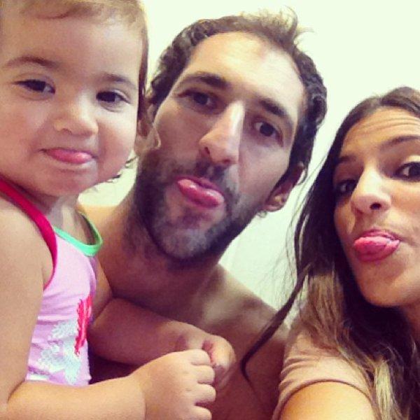 Iria Otero, Diago Lopez et Zoé Lopez le 17 - 10