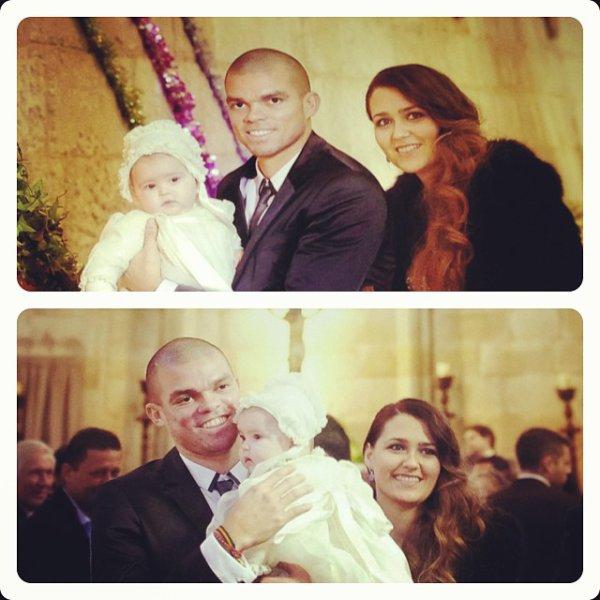 Ana Sofia Moreira, Pepe et leurs fille Angelie
