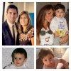 Thiago Messi, Antonella Roccuzzo, Lionnel Messi et Celia Cuccittini