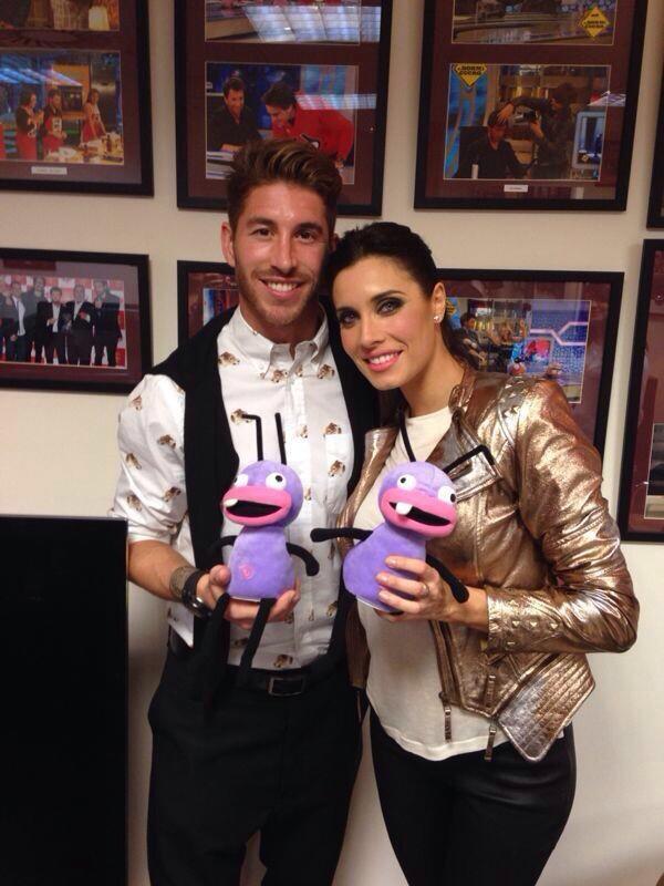 Sergio Ramos et Pilar Rubio Via Twitter le 21 - 10