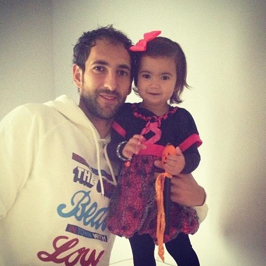Diego Lopez et Zoé le 31 - 10