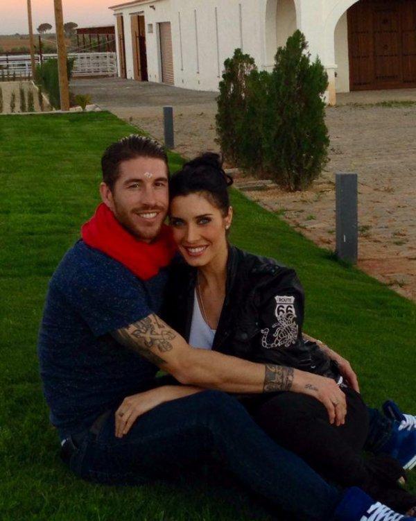 Sergio Ramos et Pilar Rubio vont etre parrent