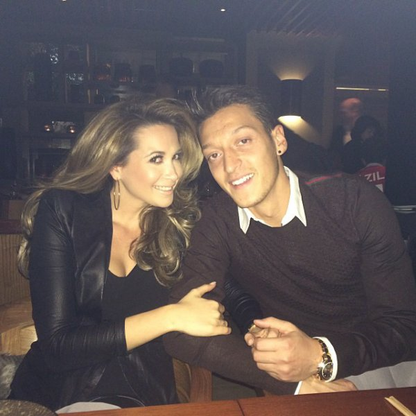 Mandy Capristo & Mesut Ozil