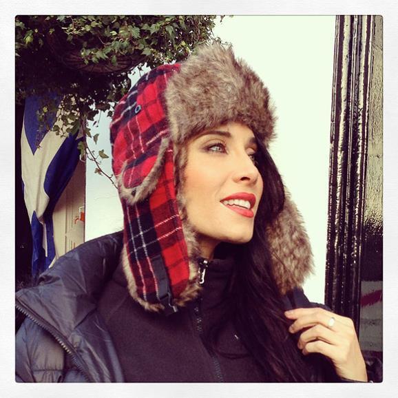 Pilar Rubio à Edimbourg