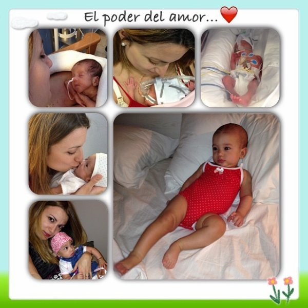 Angel Di Maria, Jorgelina Cardoso et leur fille Mia