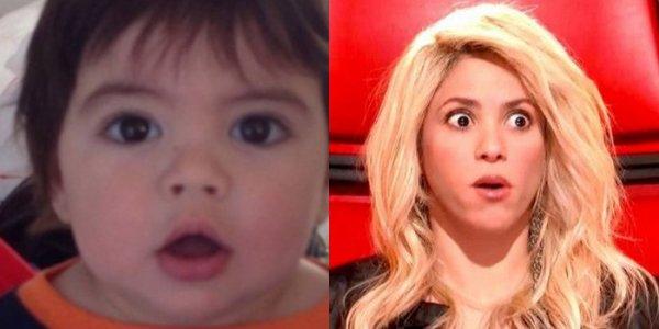 Tel mére tel fils (Shakira et Milan)