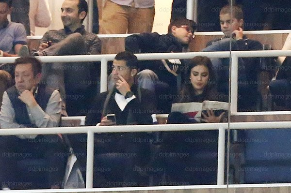 Cristiano Ronaldo et Irina Shayk le 30 - 11